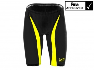 Джаммеры стартовые Michael Phelps Xpresso, black/yellow