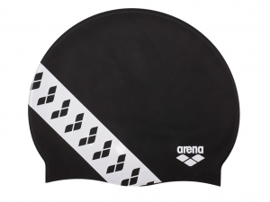 Шапочка Arena Team Stripe, black