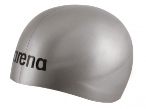 Шапочка Arena 3D Ultra, silver/black