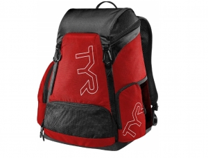 Рюкзак TYR Alliance 30L, red/black