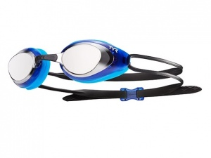 Очки TYR Blackhawk Mirrored, silver/blue